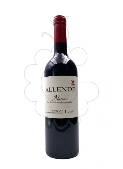 Photo Allende Nature red wine