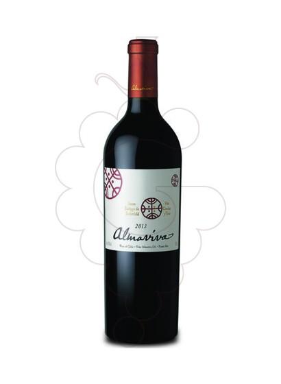 Photo Almaviva red wine
