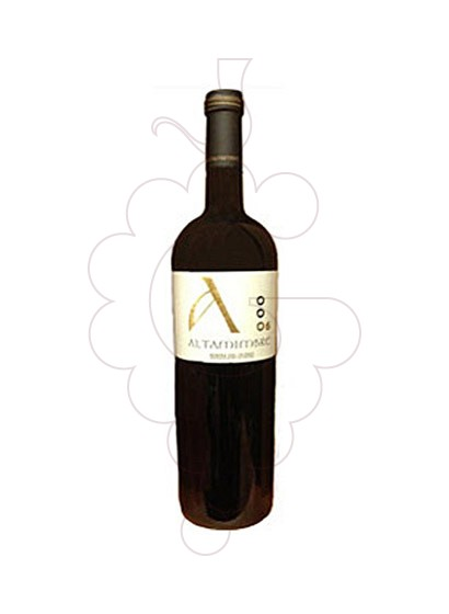 Photo Altamimbre Magnum red wine