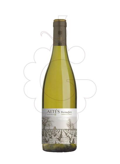 Photo Altes Benufet Blanc  white wine