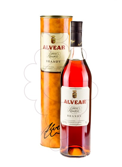 Photo Brandy Alvear Gran Reserva 25 Years