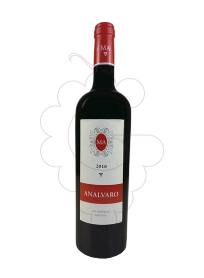 Photo Analvaro red wine
