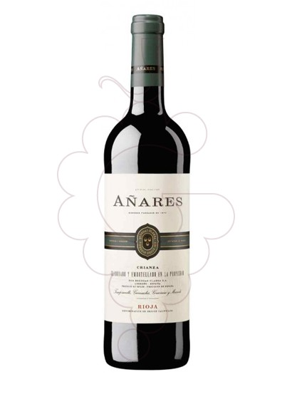 Photo Añares Crianza red wine