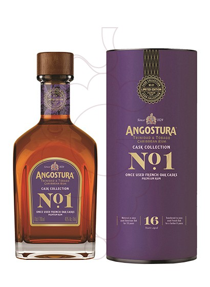 Photo Rum Angostura Nº 1 16 Years French Oak