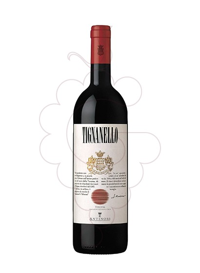 Photo Antinori Tignanello red wine