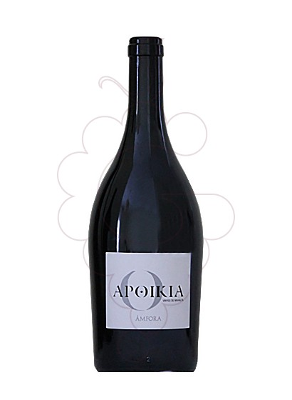 Photo Apoikia Amfora Mahalta red wine