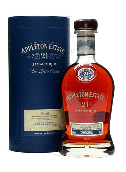 Photo Rum Appleton Estate 21 Years