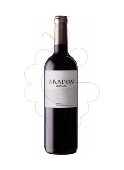 Photo Aradon Crianza red wine