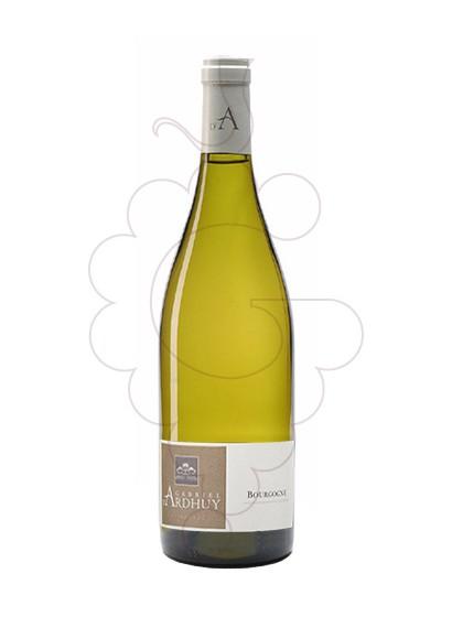 Photo White Ardhuy Bourgogne white wine