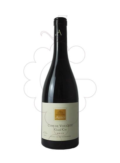Photo Ardhuy Clos de Vougeot Grand Cru red wine