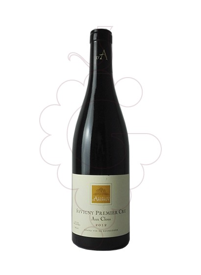 Photo Ardhuy Savigny 1er Cru Aux Clous red wine