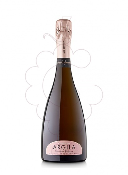 Photo Argila Rose Brut Nature  sparkling wine