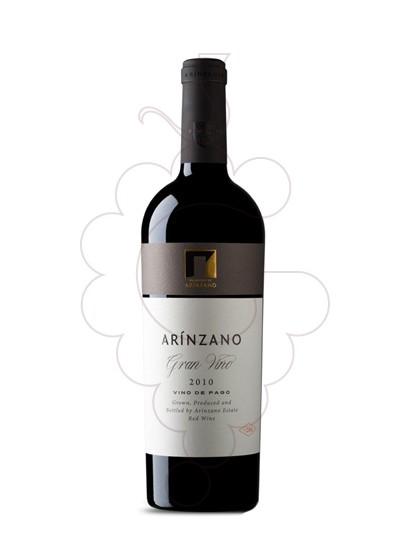 Photo Red Arínzano Gran Vino red wine