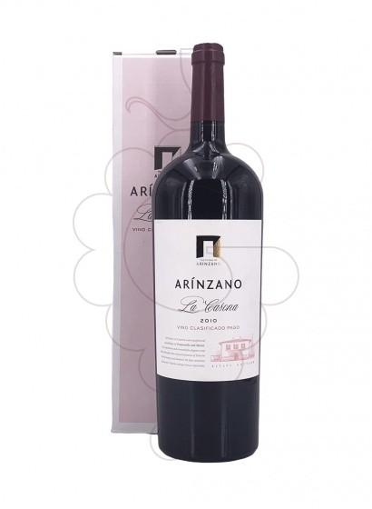 Photo Arínzano la Casona Magnum red wine