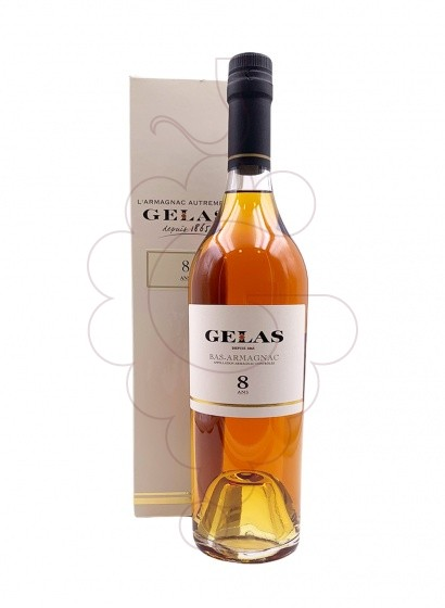 Photo Armagnac Armagnac Gélas 8 Years