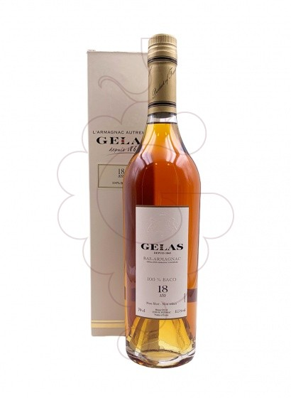 Photo Armagnac Armagnac Gélas Baco 18 Years