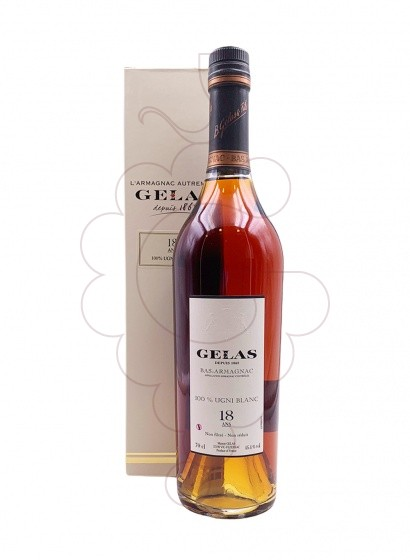 Photo Armagnac Armagnac Gélas Ugni Blanc 18 Years