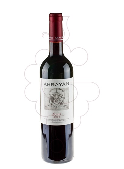 Photo Arrayan Syrah red wine