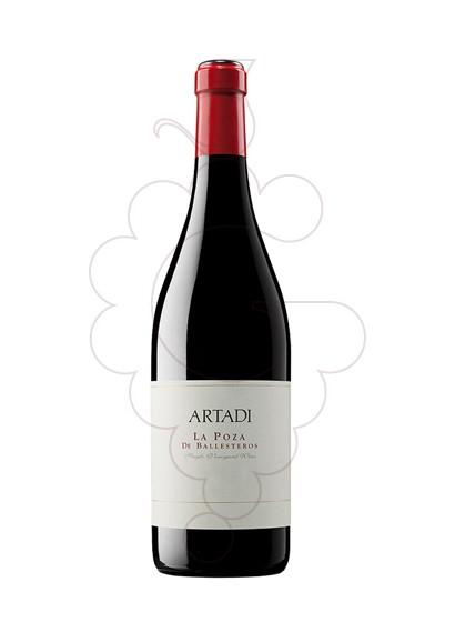 Photo Artadi la Poza de Ballesteros red wine