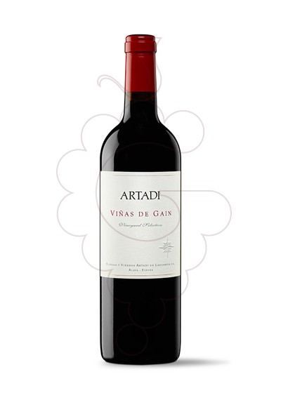 Photo Artadi Viñas de Gain red wine