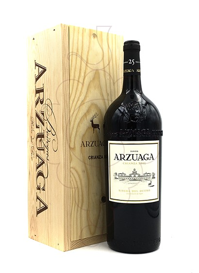 Photo Arzuaga Crianza Magnum red wine