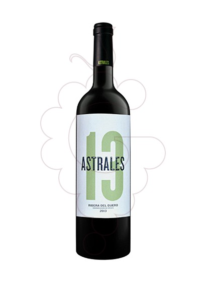 Photo Astrales red wine