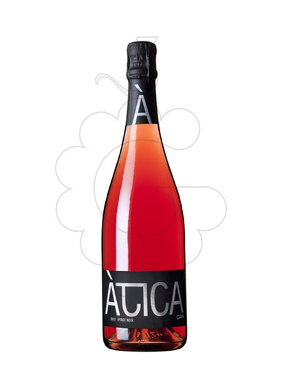 Photo Atica Pinot Noir sparkling wine