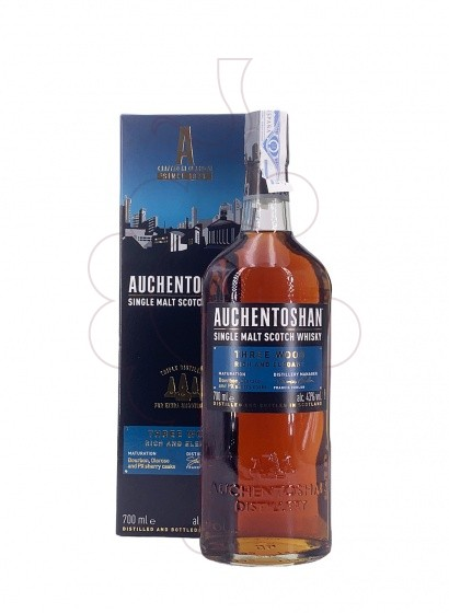 Photo Whisky Auchentoshan Three Wood