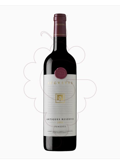 Photo Augustus Antigues Reserves red wine