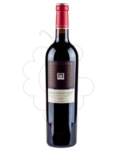 Photo Augustus Cabernet Sauvignon - Merlot red wine
