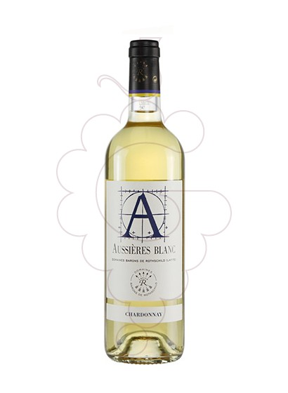 Photo Aussieres Barons Rothschild white wine