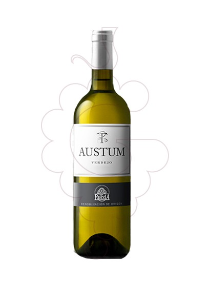 Photo Austum Blanc Verdejo white wine