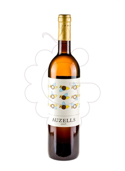 Photo Auzells Blanc  white wine