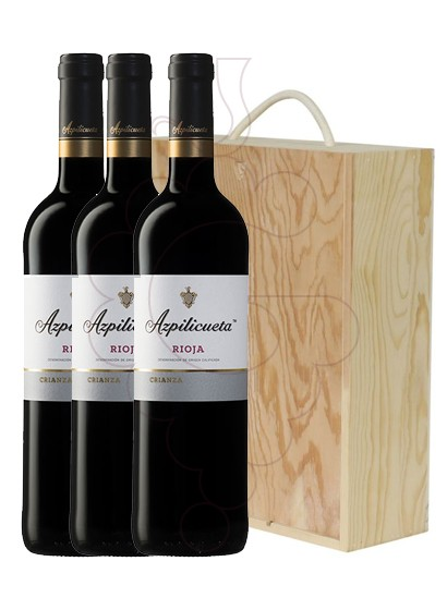 Photo Azpilicueta Crianza Pack 3 u red wine