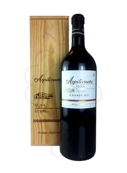 Photo Azpilicueta Crianza Jeroboam red wine