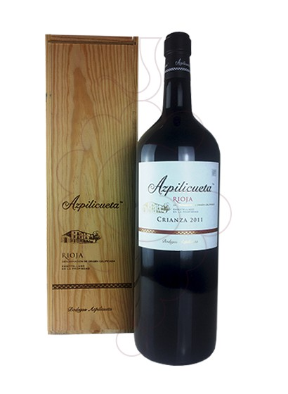 Photo Azpilicueta Crianza Rhéoboam red wine