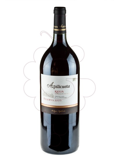 Photo Azpilicueta Reserva Magnum red wine