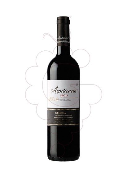 Photo Azpilicueta Reserva red wine
