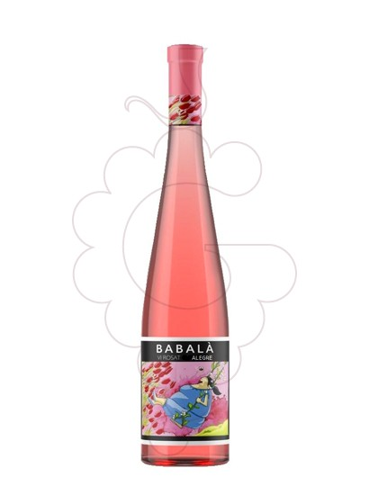 Photo Rosé Babalà rosé wine
