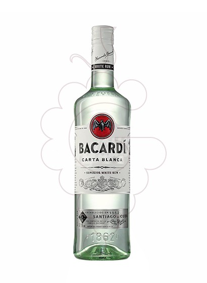 Photo Rum Bacardi non-refillable
