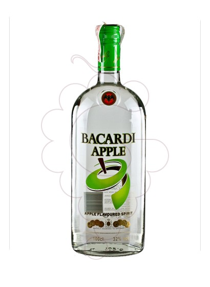 Photo Rum Bacardi Apple