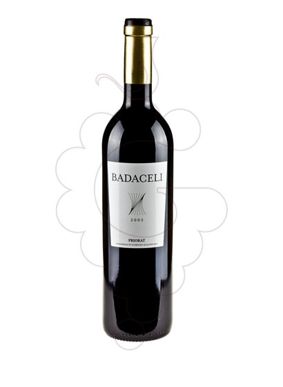Photo Badaceli red wine