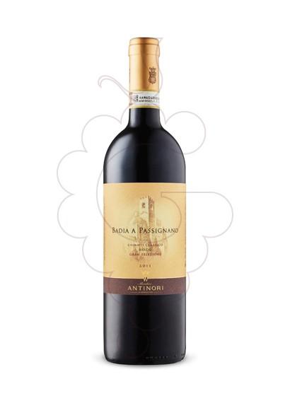 Photo Antinori Badia Passignano Chianti Magnum red wine