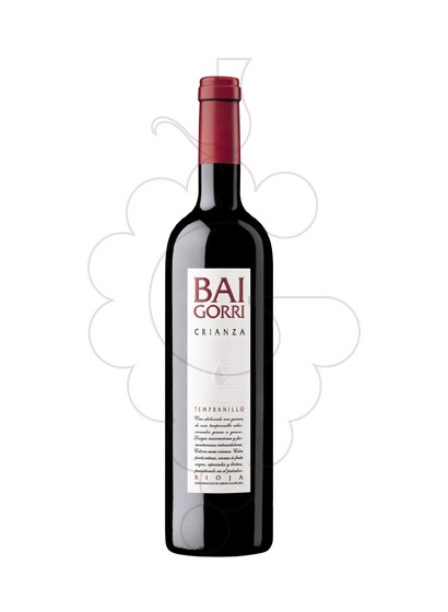 Photo Bai Gorri Crianza  red wine