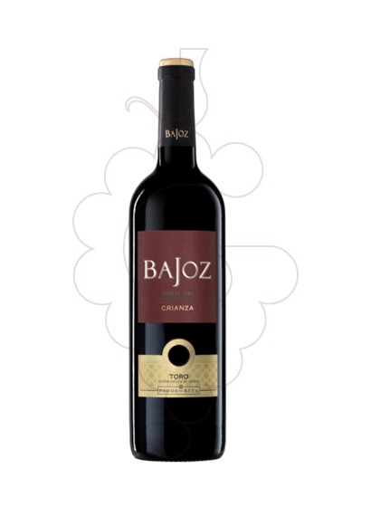Photo Bajoz Crianza red wine