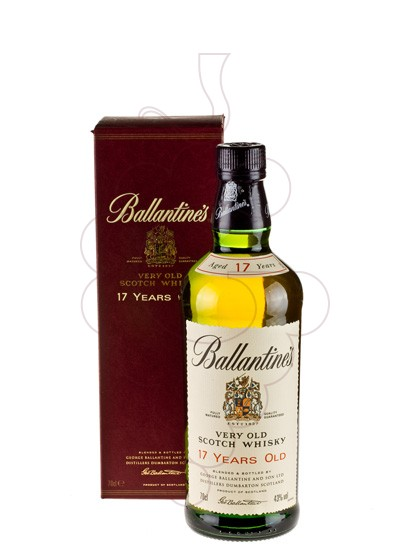 Photo Whisky Ballantine's 17 Years
