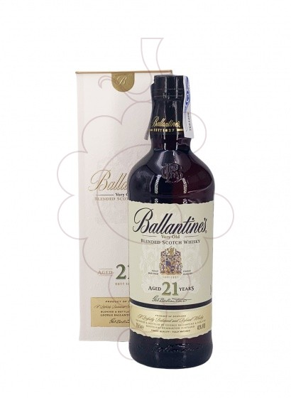 Photo Whisky Ballantine's 21 Years
