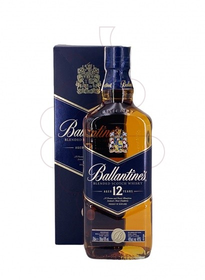 Photo Whisky Ballantine's Blue 12 Years