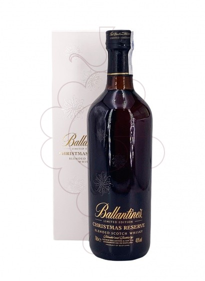 Photo Whisky Ballantine's Christmas Reserve