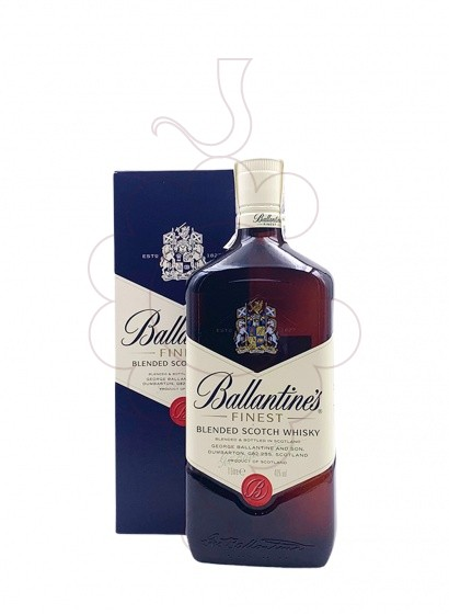 Photo Whisky Ballantine's non-refillable